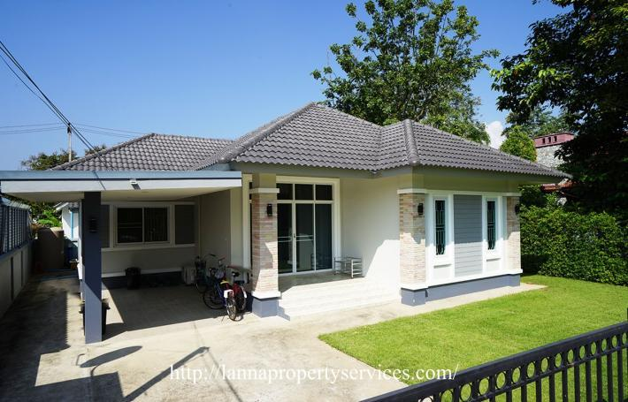 Furnished Home for rent near Kad farang hangdong.