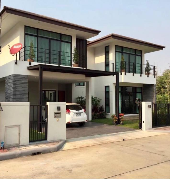 Modern House For Rent near Central Festival, ABS and Unity Concord International School. WiZE Signature Project Tambon San Pu Loei, Amphoe Doi Saket, Chang Wat Chiang Mai
